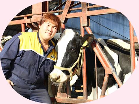 イチゴミルク牧場・池田牧場の次期代表の池田海